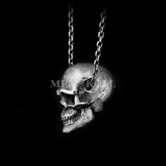 Complete skull Pendant Silver Skull neckla
