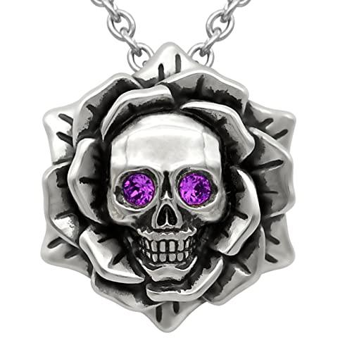 Skull Necklace: Amazon.c