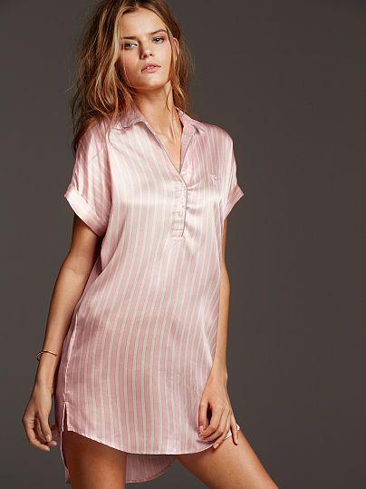 Satin Sleepshirt [Between deal and splurge, always love VS .