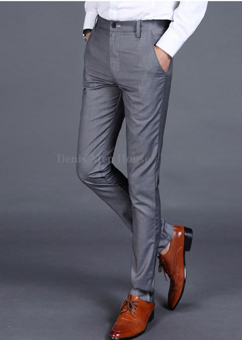 Men's Slim Fit Dress Pants – Fashion dress