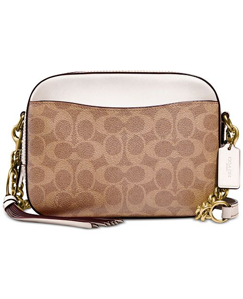 COACH Signature Camera Small Bag & Reviews - Handbags .