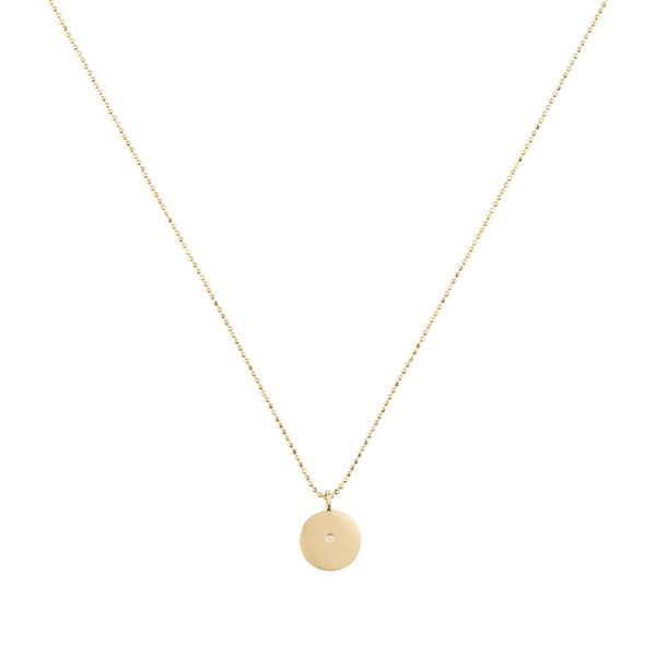 Small Circle Pendant Necklace | Ariel Gordon - Goop Sh
