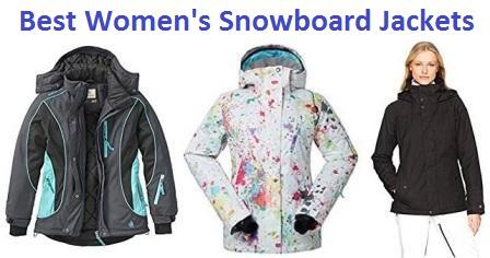 Top 15 Best Women's Snowboard Jackets in 20