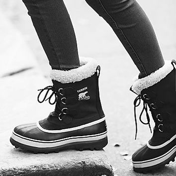 Sorel Womens Caribou Weather Boot from Free People | Cold Weath