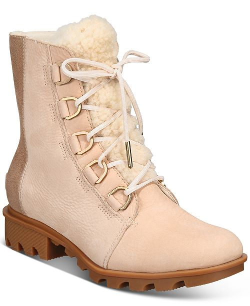 Sorel Women's Phoenix Short Lace Lux Boots & Reviews - Boots .