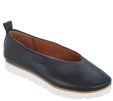 Gentle Souls Leather Slip-on Shoes - Demi - Page 1 — QVC.c