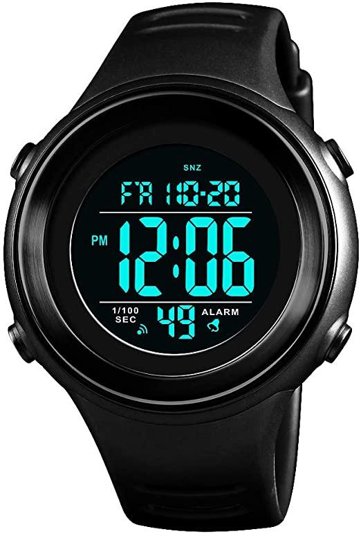 Amazon.com: Military Sports Watches Men Waterproof LED Digital .