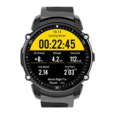 China Gps watch tracker Barometer waterproof sport watch heart .