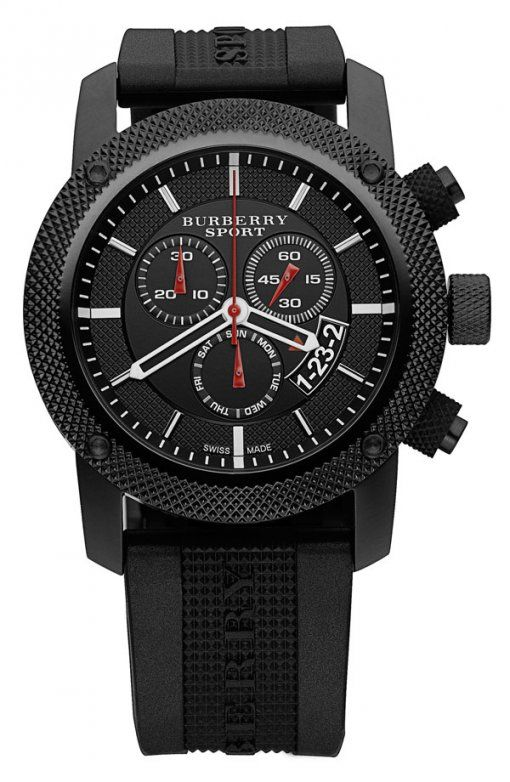 Burberry Sport Chronograph Watch   Burberry watch, Watches for men .