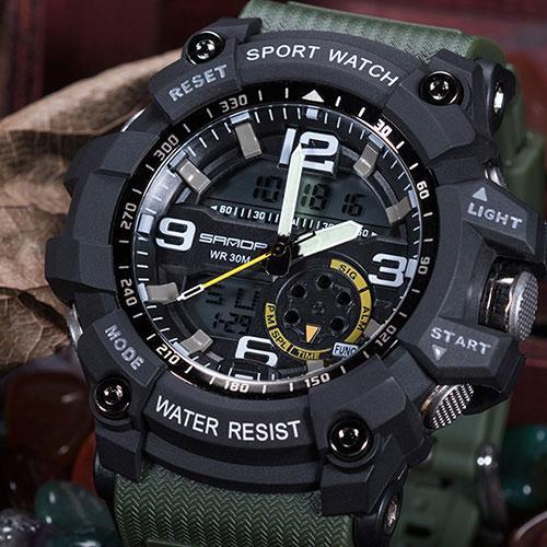 Luxury Famous Electronic LED Digital Wrist Watch Male   Watches .