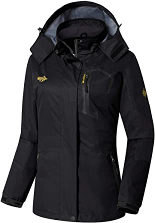 Amazon.com: Wantdo Women's Spring Jacket Windproof Rain Coat .