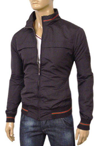 Mens Designer Clothes | GUCCI Mens Zip Up Spring Jacket #