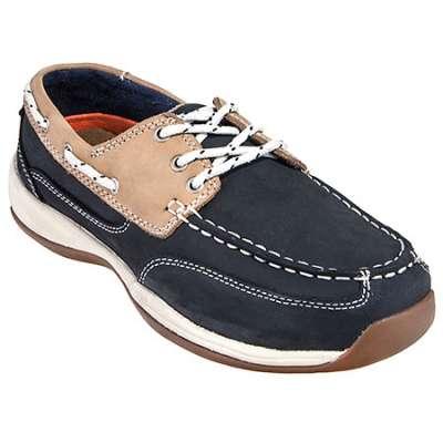 Rockport Works Shoes RK670 Steel Toe ESD Boat Sho