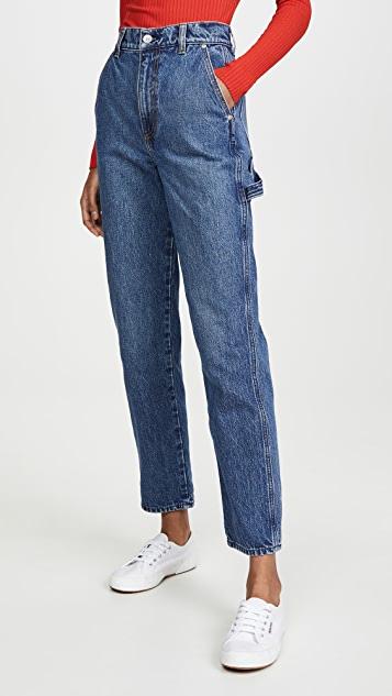 Nobody Denim Studio Straight Leg Jeans   SHOPB