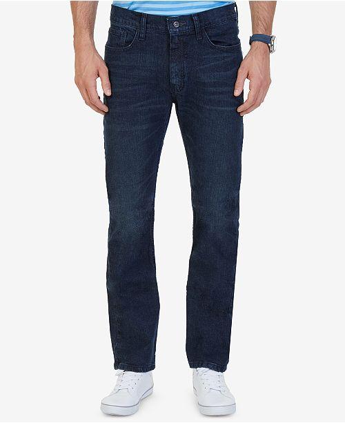 Nautica Men's Stretch Straight-Leg Jeans & Reviews - Jeans - Men .