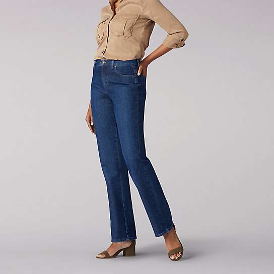Women's Original Relaxed Fit Straight Leg Jeans - Petite | L