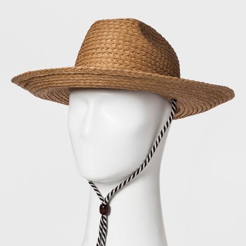 Men's Raffia Straw Panama Hats - Goodfellow & Co™ Tan : Targ