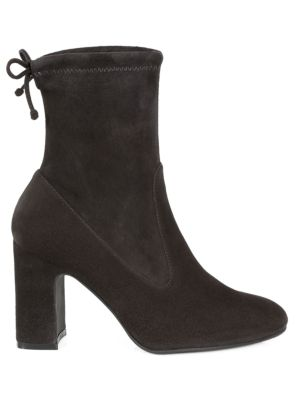 Stuart Weitzman - Benita Suede Ankle Boots - saks.c
