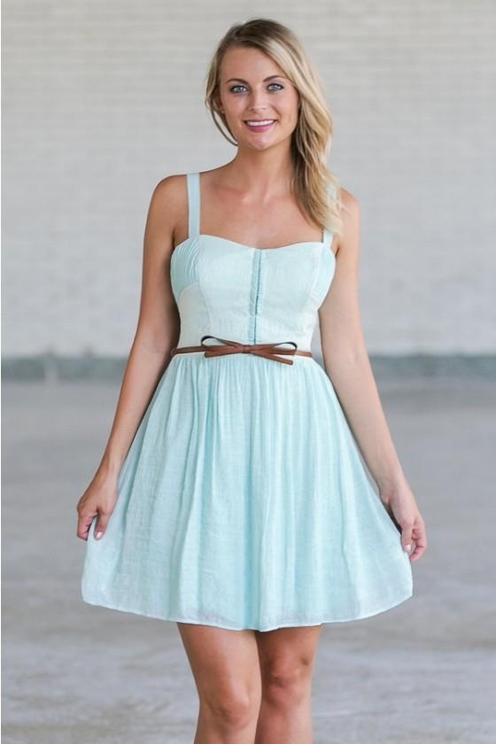Mint Summer Dress | Cute Mint Dress | Cute Summer Dress | Cute .