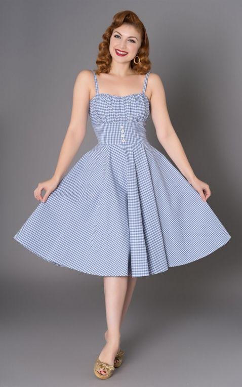 Sheen Clothing Dress Melissendre | Rockabilly Rul