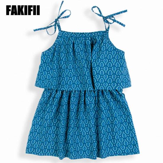 China OEM/ ODM Factory Kids Wear Children Apparel Summer Girl .