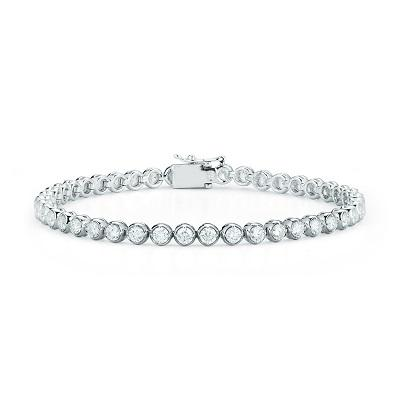 Bezel Tennis Bracelet – Stephanie Gottli