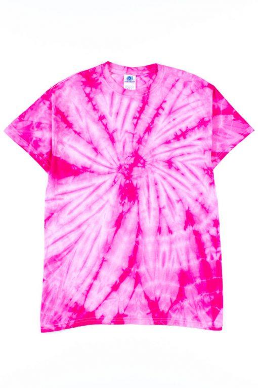 Fuchsia Tie Dye Shirt - Ragsto