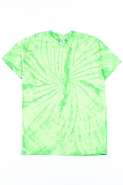 Lime Green Tie Dye Shirt - Ragsto