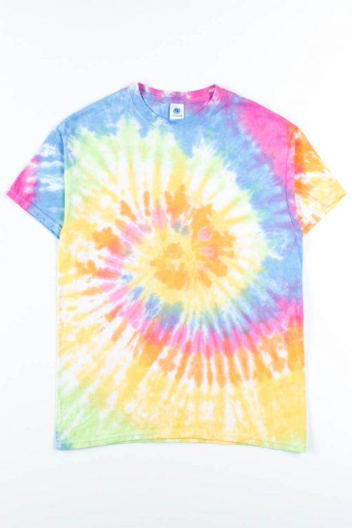 Pastel Rainbow Tie Dye Shirt - Ragsto