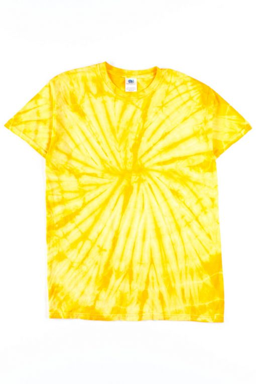 Yellow Tie Dye Shirt - Ragsto