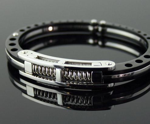Cuffed Titanium Bracel