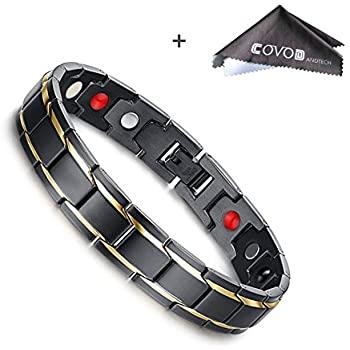 Amazon.com: Titanium Magnetic Therapy Health Bracelet - 2018 New .