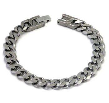 Mens Titanium Bracelets Various Designs Available - Titanium K