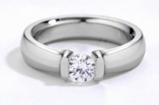 Where to Find Titanium Engagement Rings | LoveToKn