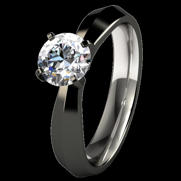 Black Titanium Engagement Rings for Women   Tungsten engagement .