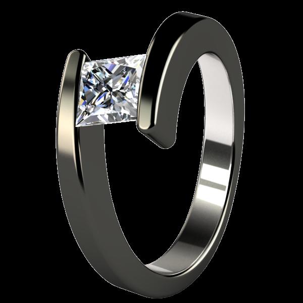 Etoile   Companion Titanium Ring   Titanium engagement rings .