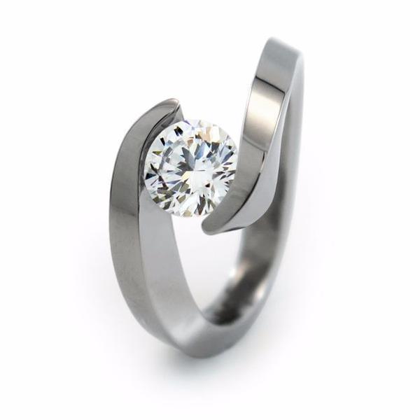 Distinctive Features Of Titanium Engagement Rings - StyleSkier.c
