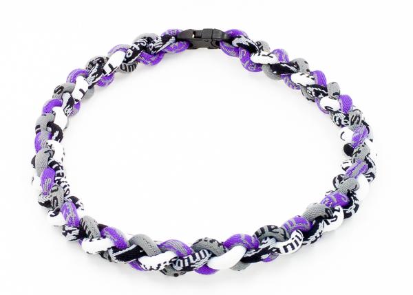 Charcoal / White / Purple / Black Camo Titanium Necklace » RallyRo