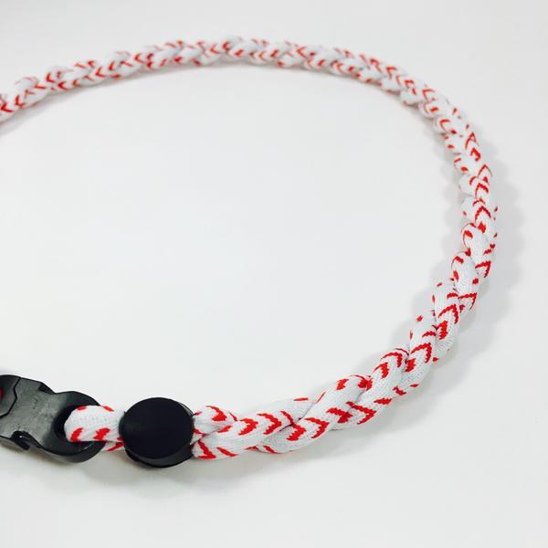 Baseball Lace Titanium Necklace – Elite Athletic Ge