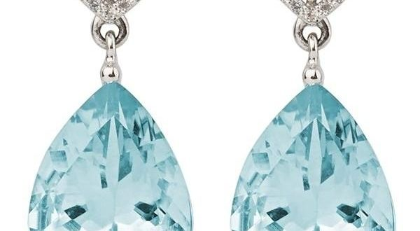 Aqua White Topaz and Sky Blue Topaz Earrings – Emily Mortimer .