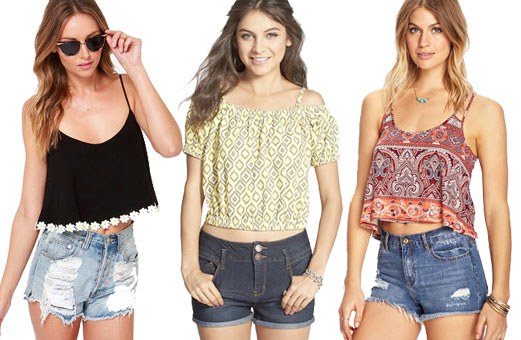 Cute crop tops to sport all summer long - GirlsLi