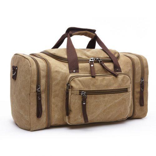MR Canvas Men Travel Duffel Bags – Pit