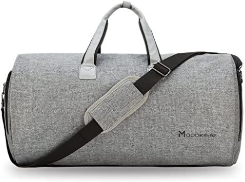 Amazon.com | Convertible Garment Bag with Shoulder Strap, Modoker .