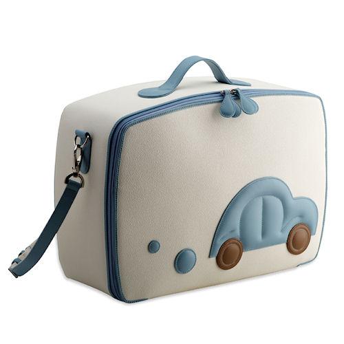 Pineider Baby Travel Bag - Light Blue | Bo