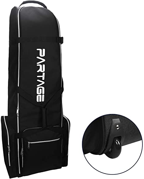 Amazon.com : Partage Golf Travel Bag with Wheels, Golf Travel Case .