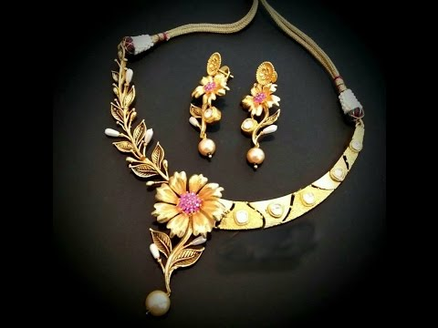 Latest Elegant Trendy Jewellery Designs Part 03 - YouTu