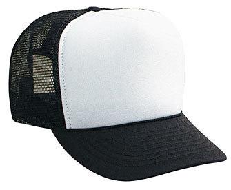 Black Blank Hat, Black Blank Cap, Trucker Hat, Mesh Hat, Trucker Ha