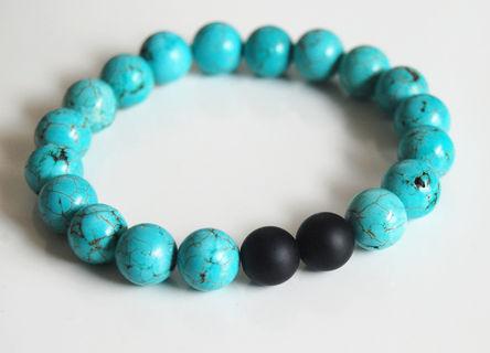 Modern Mens Turquoise Bracelets - Modern Innovation Desi