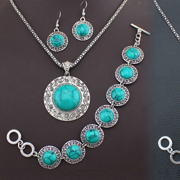 Antique-Style Turquoise Jewellery | Group