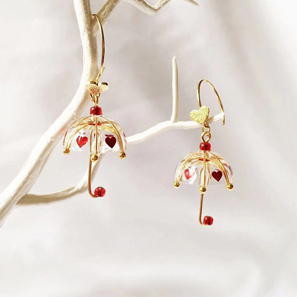 Unique Umbrella Earrings - ApolloB